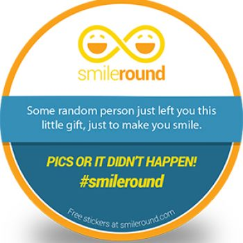 Free SmileRound Sticker