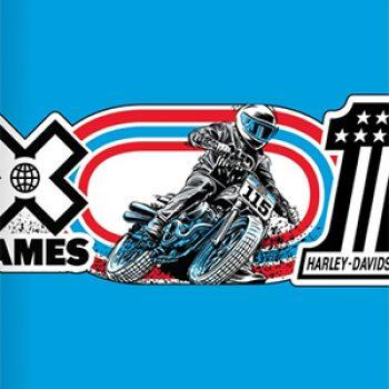 Free Harley-Davidson X Games Sticker