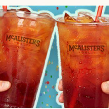 McAlister's Deli: Free Tea Day - June 21