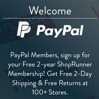 Free 2-Year ShopRunner Membership