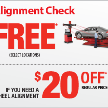 Mr. Tire: Free Alignment Check