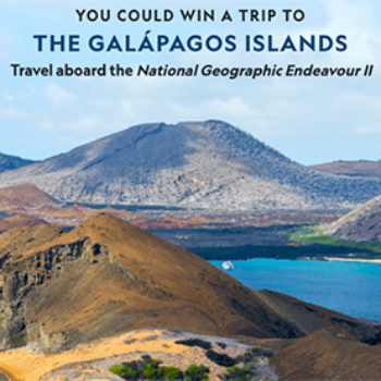 Win a Trip to the Galapagos Islands