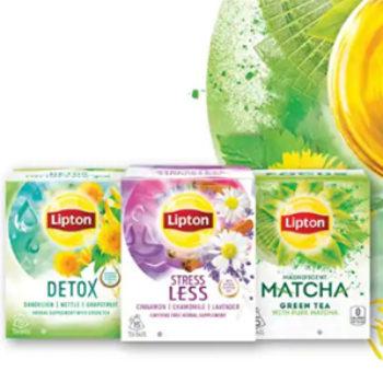 Free Lipton Wellbeing Tea Samples