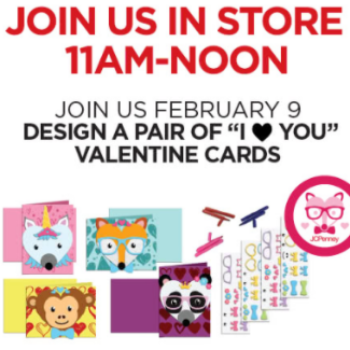 JCPenney: Free Valentines Day Cards for Kids