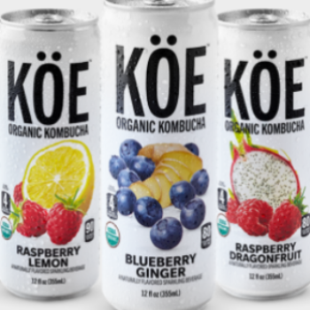 Free Can of KOE Kombucha