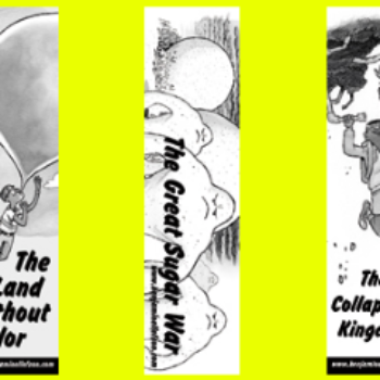 Free The Land Without Color Bookmarks and Postcards