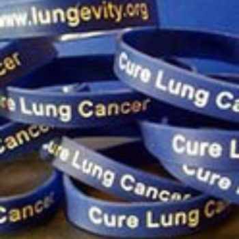 Free LUNGevity Wristbands