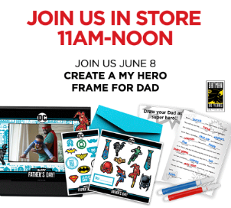 Jcpenney Kid S Zone Free My Hero Father S Day Frame