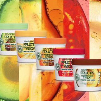 Free Garnier Fructis Treats Hair Mask Sample